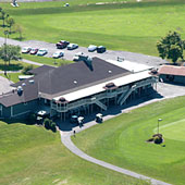 The clubhouse at River Oaks Grand Island